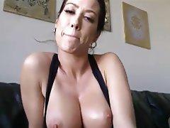 Amateur Big Boobs Masturbation MILF Webcam