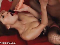 Asian Blowjob Cumshot MILF Squirt