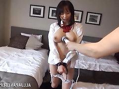Asian Babe Big Tits Blowjob Creampie