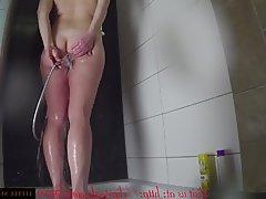 Amateur Anal German MILF Shower