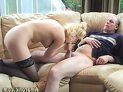 Babe Blonde Czech Pantyhose Teen