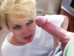 Amateur Blowjob Cum in mouth Mature