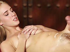 Cumshot Massage Old and Young Teen