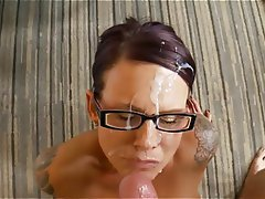 Amateur Cum in mouth Cumshot Facial Mature