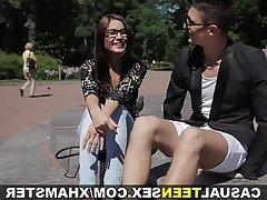 Blowjob Brunette Masturbation Small Tits Teen