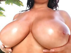 Babe Big Boobs Softcore Nudist