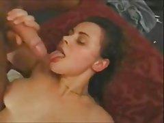 BBW Cum in mouth Cumshot Facial Threesome