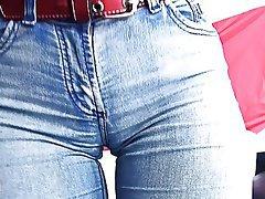 Big Boobs Big Butts Brunette Teen Jeans