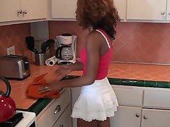 Babe Kitchen Webcam Black