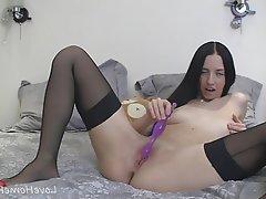Amateur Anal Stockings Homemade