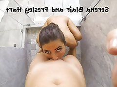 Lesbian Shower POV