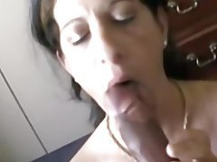 Amateur Blowjob Big Boobs MILF Homemade