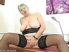 Mature MILF British Granny Mature