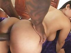 Interracial Big Ass Big Cock Latina