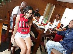 Anal Interracial Gangbang Big Black Cock Latina