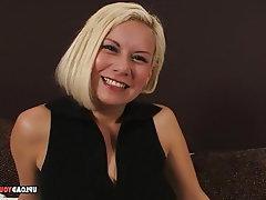 Amateur Blonde Blowjob Threesome Homemade
