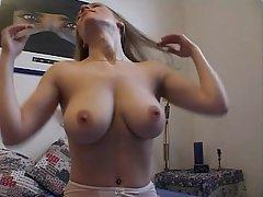 Amateur Big Tits Blonde Fucking Girlfriend