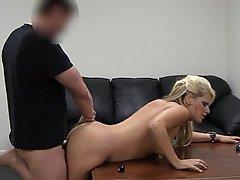 Amateur Blonde Casting Fucking Hardcore