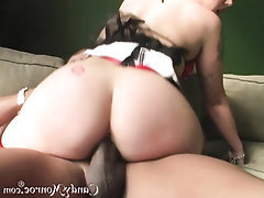 Ebony Fetish Interracial MILF Panties