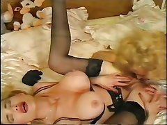 Big Boobs Blonde Lesbian Lingerie Threesome