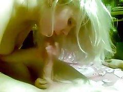 Amateur Blonde Blowjob Cumshot POV