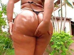 Big Butts Brazil Outdoor