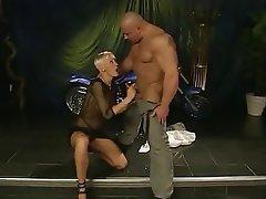 Babe Blonde Blowjob German Hardcore