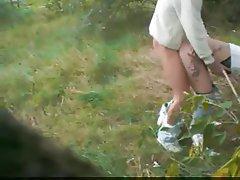 Amateur Blowjob German Outdoor