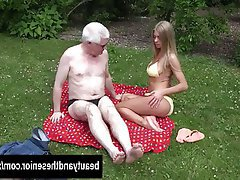 Blonde Blowjob Hardcore Old and Young